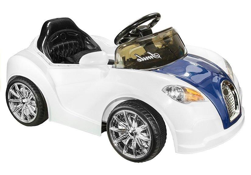 elektroauto f r kinder bugati wei elektrofahrzeuge. Black Bedroom Furniture Sets. Home Design Ideas