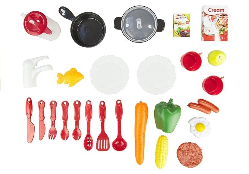 Spielküche für kleine Köchin 32 Elemente Sound- und Lichteffekte ...