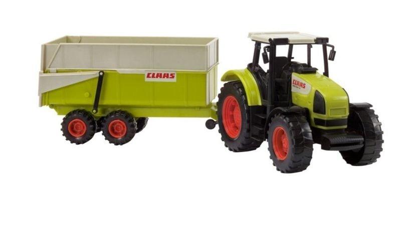 Traktor claas ares z przyczepą  spielzeug