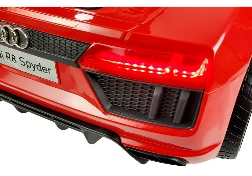 Audi R8 Spyder Red Electric Ride On Car Electric Ride On