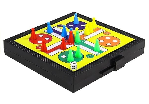 5 IN 1 Chess Games Set Ludo Draughts Snakes And Ladders