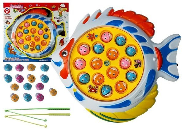 Funny Arcade Game Fishing Sound Effects 15 Fishes 2 Fishing Rods