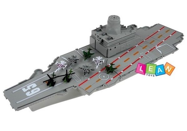 Aircraft Carrier + Battleship 2in1 + Airplanes