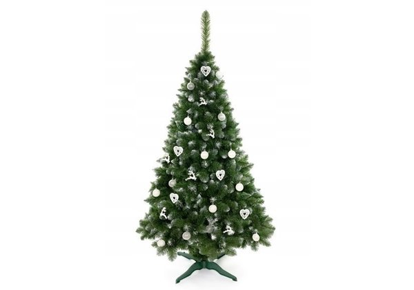 Artificial Christmas Tree with Snow 250cm