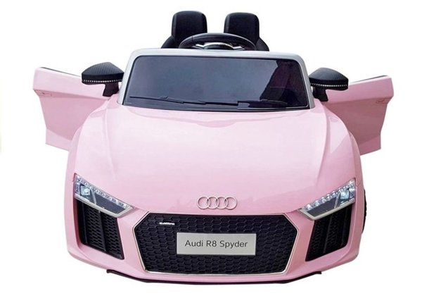 Audi R8 Spyder Electric Ride On Car – Pink