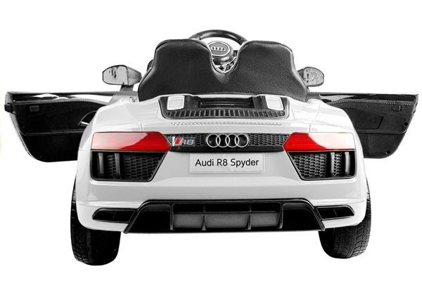 Audi R8 Spyder White - Electric Ride On Car