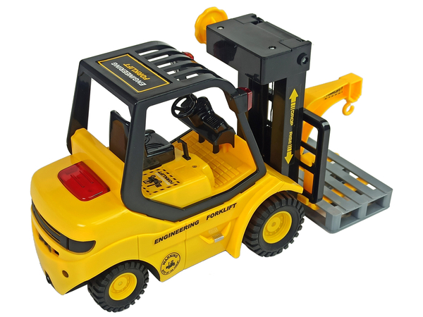 Light Car Forklift Pallet Light Sound Lift 1:14