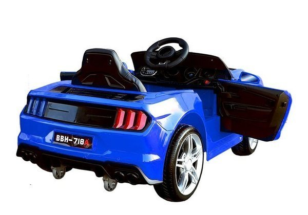 BBH-718A Electric Ride-on Car Blue