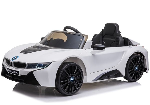 BMW I8 JE1001 Electric Ride On Car White