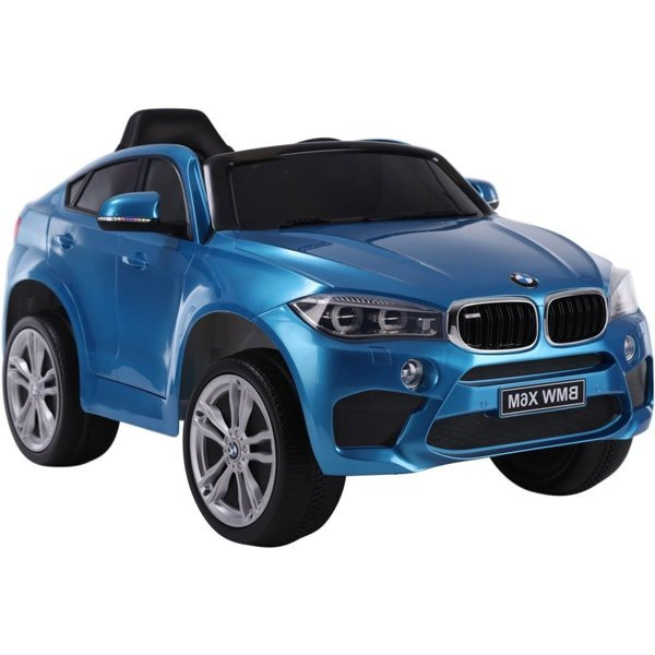 BMW X6 Silver Painting - Electric Ride On Car