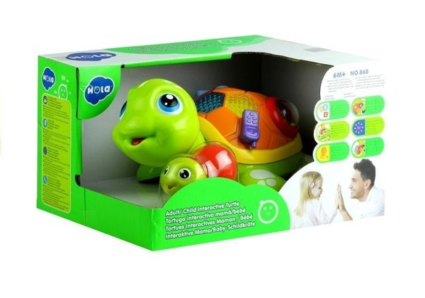 Baby Toddler Interactive Toy Parent Child Turtle Lights Sounds