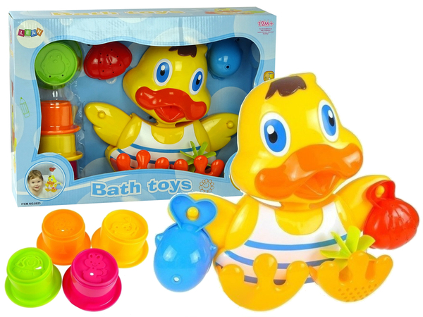 Bath Toy Duck Suction Cups Accessories