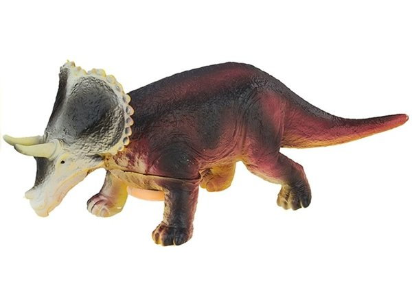 Battery Powered Dinosaur Triceratops 36cm