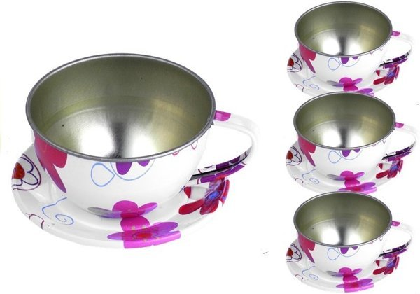 Beautiful Metal Tea Service Kitchen Set