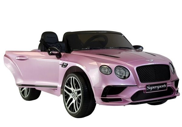 Bentley Supersports Electric Ride-On Car JE1155 Pink Painted
