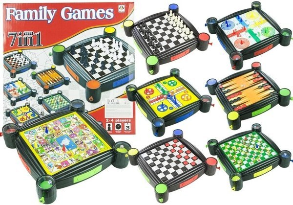 Big 7 in 1 Family Game Set