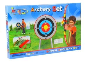 Bow set with Target + Quiver and 3 arrows
