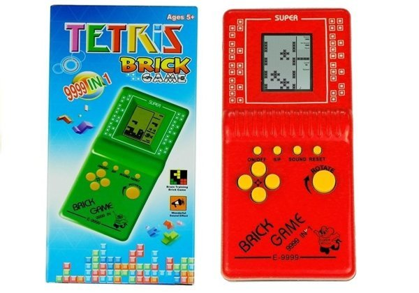 Brick Game Electronic Portable Red