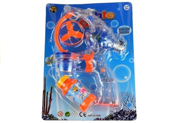 Bubble Gun with Light Effects