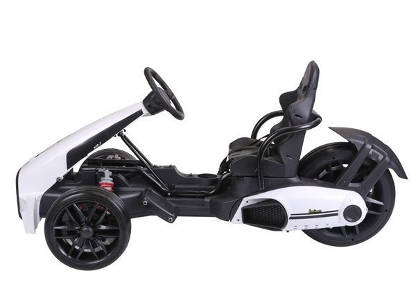CH9939 Electric Ride-On Go-kart White