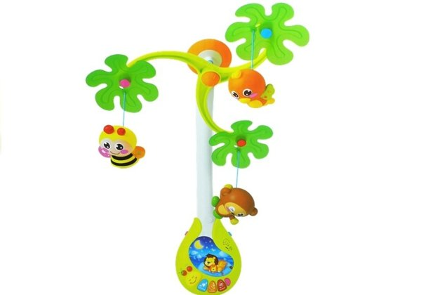 Carousel Music Box Toys Rattles for Baby
