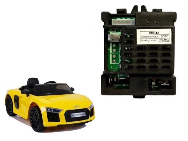 Central Module for Electric Ride On Car Audi R8