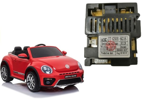 Central Module for Electric Ride On Car Volkswagen Beetle