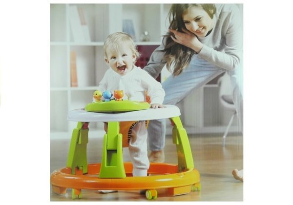 Child Walker 3 in 1 Interactive Panel Educational
