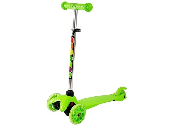 Children's Scooter Three-Wheeled Balance SCOOTER Green