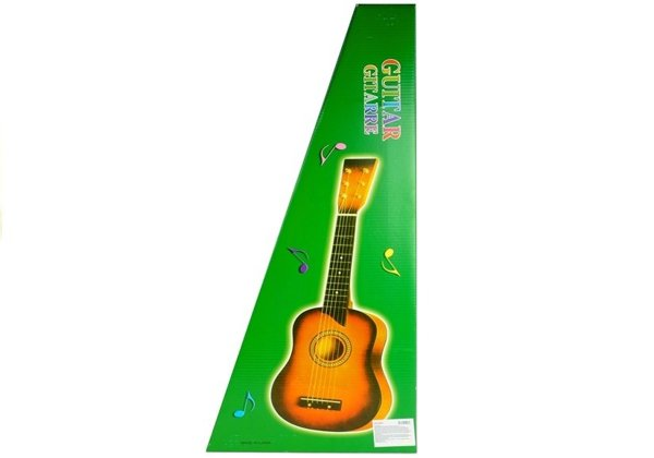 Classic Wooden Guitar For Kids Looking Like Real