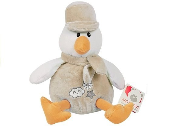 Cute Chicken Beige with Hat Plush Toy 2027A