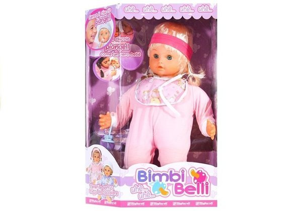 Cute crying baby doll with accessories pacifier lovely pyjamas