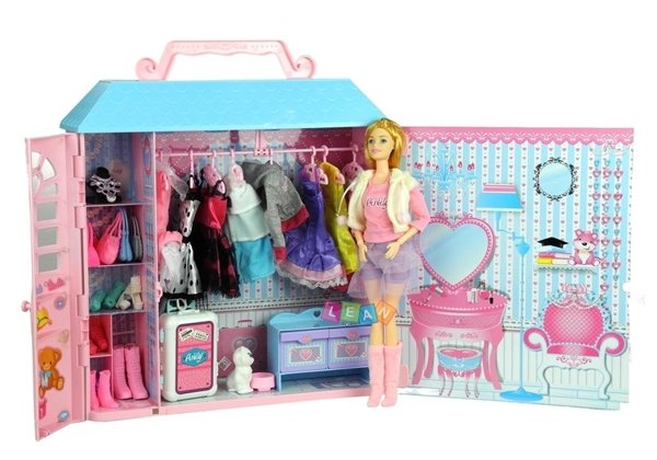 Dressing Room Home With Doll Dresses And Accessories