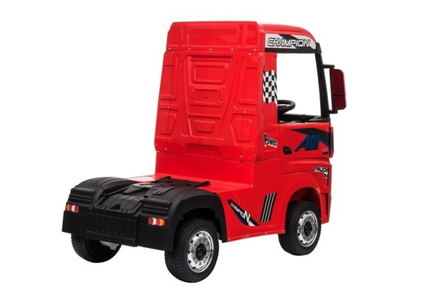 Electric Ride-On Car Mercedes Actros Red MP4