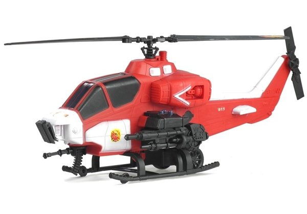 Fire & Rescue Helicopter - Fire Brigade Vehicle for Children
