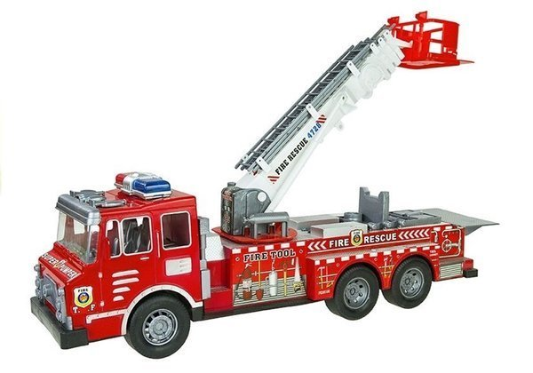 Fire Truck Playset Fire Rescue Brigade Set