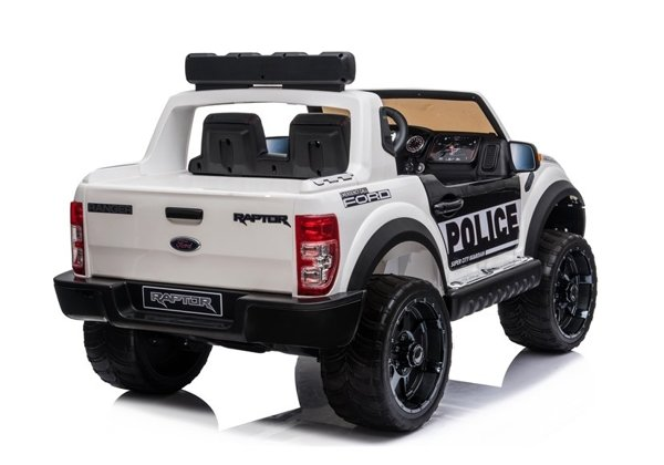 Ford Raptor Electric Ride-On Car DK-F150R Police White