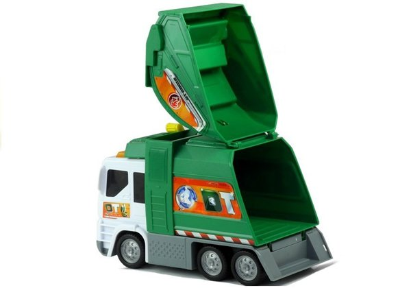 GARBAGE TRUCK  with Sound Dickie Toys
