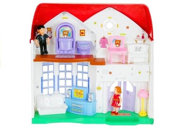 Happy Family Big Doll's House 2 levels