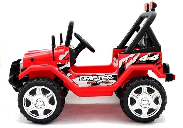 Jeep Raptor Red - Electric Ride On Car