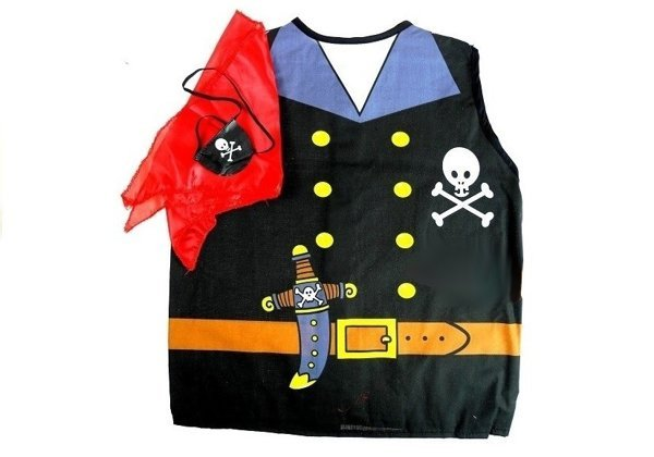 Kids Costume Police Indian Sheriff Pirate