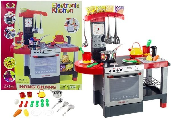 Kitchen with Accessories - Realistic Role-Play Set