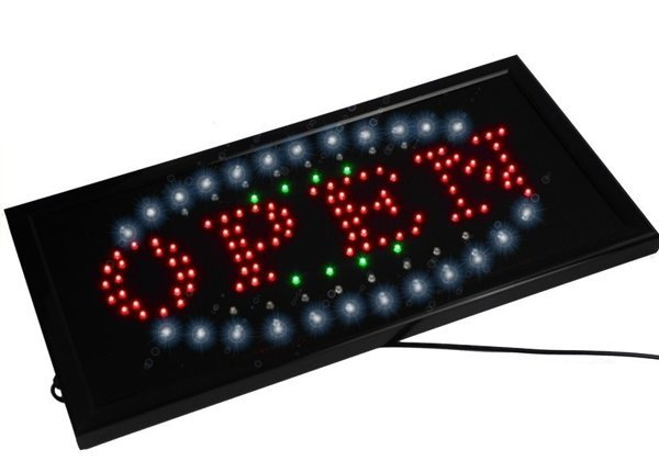 LED Board OPEN Colorful Lights 2777