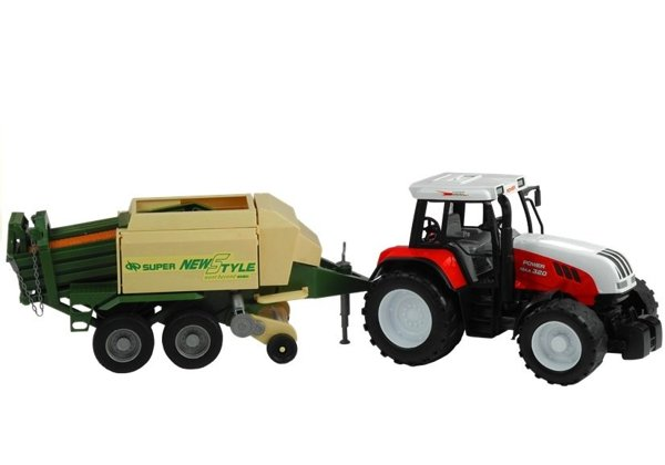 Large Tractor with a Trailer Agricultural Machine 65 cm