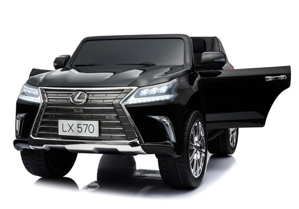 Lexus DK-LX570 Black Painting LCD - Electric Ride On Car