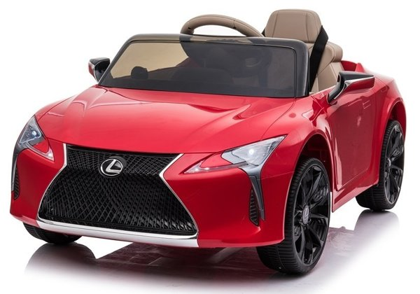 Lexus JE1618 Electric Ride-On Car Red Painted