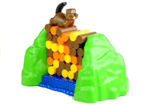 Log Guardian Beaver Family Game Up To 4 Players