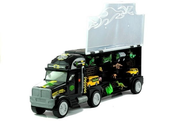 Lorry Truck with Dinosaurs and Cars 49 cm 1:22 + Game