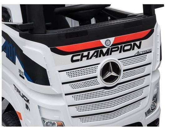 Mercedes Actros Electric Ride-on Car White MP4