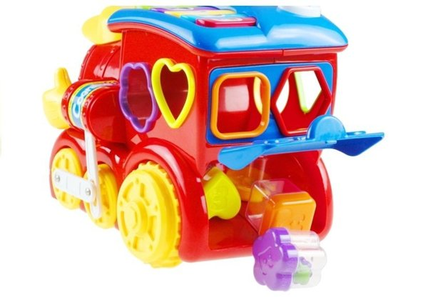 Multifunction Locomotive with Blocks - lights & sounds